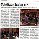 Bericht vom Weihnachtsmarkt 2014 in Ingeln-Oesselse in der Laatzener Woche vom 17. Dezember 2014