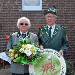 Schützenkönigin Inge Abmeyer mit ihrem Mann Wilhelm Abmeyer