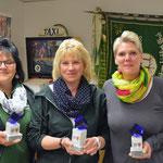 Siegerinnen in der Damenklasse v.l Ulrike Rohlf-Stumpf, Edda Rudolph Holzapfel und Ulrike Schuchardt