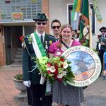 Zu Gast bei Bürgerkönigin Julia Diener