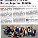 Bericht in den Leine Nachrichten vom 28. Juli 2015