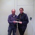 Siegerin des Weihnachtsschießens: Carolin Hennies