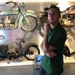 Der passionierte Motoradfahrer: Tim Heitmann