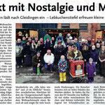 Bericht vom 11. Weihnachtsmarkt in Ingeln-Oesselse! Gefunden in den Leine-Nachrichten vom 20. Dezember 2014!  PS: Der Hof von Familie Hennies befindet sich in Oesselse ;)