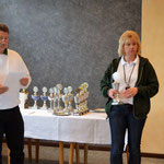 Preisverleihung 2014 v.l. Harald Kernbach, Edda Rudolph-Holzapfel