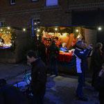 Stände auf dem Weihnachtsmarkt 2014 in Ingeln-Oesselse
