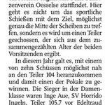 Bericht in den Leine Nachrichten vom 14.07.2015