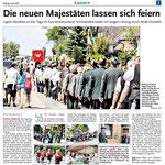 Bericht der Leine Nachrichten vom 08. Juni