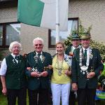 Gewinner 2013 mit dem Ehrenvorsitzenden Herbert Witt (2. v.li.)