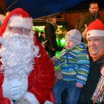 Der Weihnachtsmann kam auch zu Besuch!
