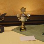 Pokale der Wettkämpfe 2014
