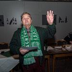Hauptmann Werner Schadler wurde wiedergewählt und für langjährige Mitgliedschaft ausgezeichnet. Hurra :-)