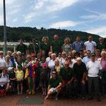 Die Mitglieder des SV Oesselse auf Tagesfahrt in Hameln