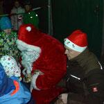 Besuch vom Weihnachtsmann