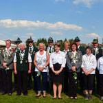 Gruppenfoto aller Könige der Vereine Ingeln und Oesselse 2013