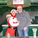 Die Schankwagenaufsicht haben Karin Franke und Klaus Specht