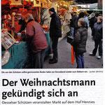 Ankündigung Weihnachtsmarkt 2013