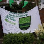 Gruß der Jugendabteilung an Schützenkönigin Nadine Abmeyer