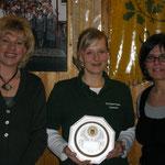 Damenmannschaft (v.l. Edda Rudolph-Holzappel, Nadine Eggers, Brita Jaspers)