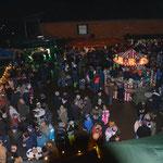 Blick von oben auf den 16. Weihnachtsmarkt 2019