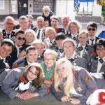 Gruppenfoto vom Fotoschießen des SV Oesselse