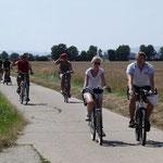 Schützenverein Oesselse bei der Fahrradrallye 2014
