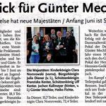 Bericht von der Proklamation in den Leine-Nachrichten vom 28. Mai 2015