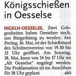 Bericht der Leine-Nachrichten vom 13. Mai 2014