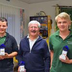 Sieger in der Schützenklasse v.l Stephan Hennies, Klaus Krancher und Malte Kanus