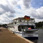 Schiffsrundfahrt auf der Weser