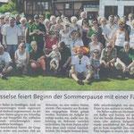 Bericht der Leine-Nachrichten vom 26. Juli 2014