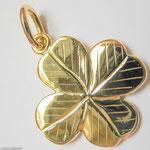 Kleeblatt aus Gold • Anfertigung im Kundenauftrag