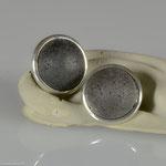 Ohrstecker in Silber mit Lava • Preis € 100