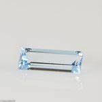 Aquamarin • 6,79 ct • baguette • 19,6/7,4 mm • Preis € 1650