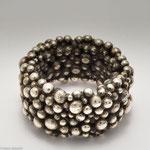 Ringobjekt aus Silbergranulat • Verkauft
