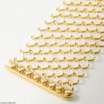 Tranzparentes Armband aus Golddraht und Brillanten • Preis € 3.680