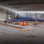 Inside the Wksp Hanger - Vittoria Barracks  B.A.O.R Werl