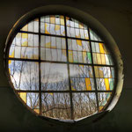 The Church Window - Vittoria Barracks - B.A.O.R Werl