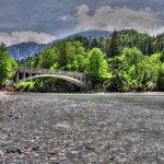 The old Bridge on the Lech Austria