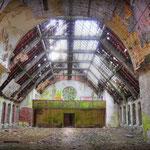 Inside the remains of St' Mathews Church - Albuhera Barracks - B.A.O.R Werl