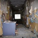 Corridor inside the RMP/SIB building - Vittoria Barracks - B.A.O.R Werl