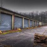 The MT Platoon Garages -  Albuhera Barracks - B.A.O.R Werl