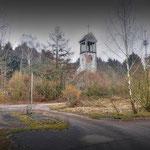 The Church from the POL Point - Vittoria Barracks  B.A.O.R Werl