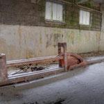 The Boul Ramp inside the Skittle Alley- Albuhera Barracks - B.A.O.R Werl