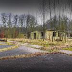 The accommodation Blocks - Vittoria Barracks  B.A.O.R Werl