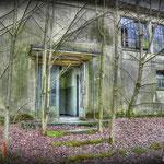 The specatores entrance - Inside the vandalised Gym - Albuhera Barracks - B.A.O.R Werl