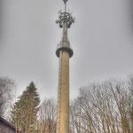 The former (Radio Canadian Army Europe) CAE & BBC - BFBS Radio Station mast - Vittoria Barracks - B.A.O.R Werl now used by The German Hellweg Radio