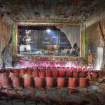 Inside the Globe SSVC Cinema - Albuhera Barracks - B.A.O.R Werl