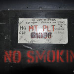 The MT door signed - Albuhera Barracks - B.A.O.R Werl