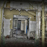 The Guardroom main entrance - Albuhera Barracks - B.A.O.R Werl